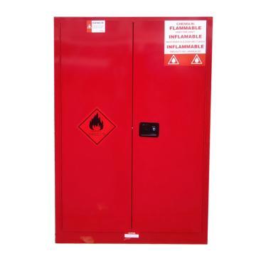 成霖 红色安全柜,双门/手动,60加/227升,2块可调层板,CL806001