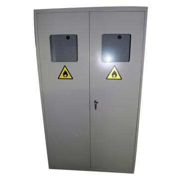 灰色气瓶柜三瓶,不带报警,尺寸1200*450*1800mm,CLQ303-1