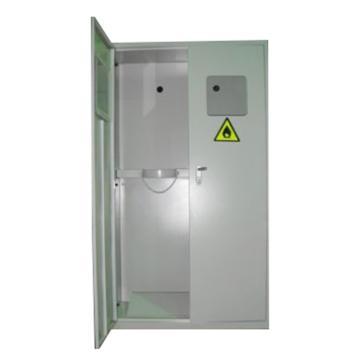 灰色气瓶柜双瓶,不带报警,尺寸900*450*1800mm,CLQ202-1