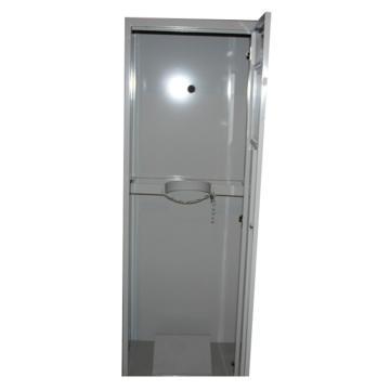 灰色气瓶柜单瓶,不带报警,尺寸600*450*1800mm,CLQ101-1