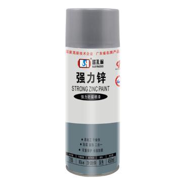 蓝孔雀 自动喷漆 9304#强力锌,450ml/瓶,12支/箱