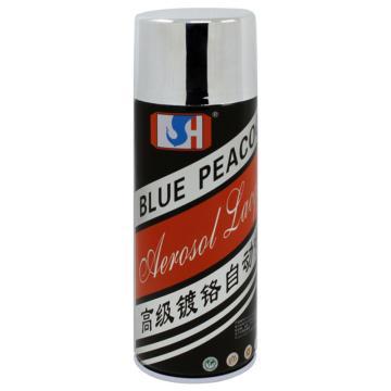 蓝孔雀 自动喷漆 9301#镀铬,450ml/瓶,12支/箱