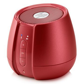 惠普(HP)無線藍牙迷你音箱, 筆記本電腦手機便攜低音炮音響 紅色 S6500 單位:個