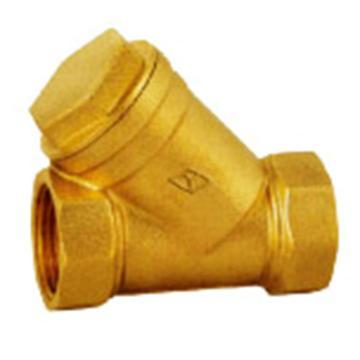 遠大閥門 黃銅絲扣過濾器 WF11B-16T,DN50