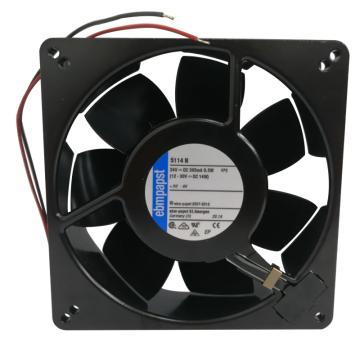 ebmpapst 散热风扇 5114 N,24VDC,9.5W