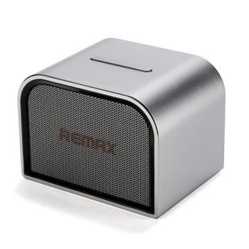 REMAX 藍牙音箱,迷你/桌面音箱M8 便攜電腦音箱 藍牙4.1通用藍牙音箱 M8長款 錆色 單位:個