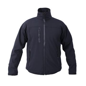 博迪嘉 常规软壳夹克,C750 BLK-M,黑色