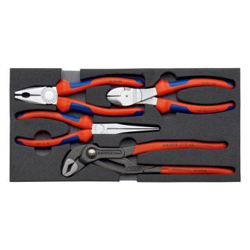 凯尼派克 Knipex 钳子组套,4件套,00 20 01 V01