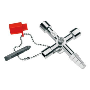 凯尼派克 Knipex 控制柜钥匙,长度90mm,00 11 04