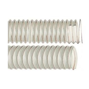 IPL 0.4mm壁厚-食品级轻型物料透明PU钢丝管,203*203.9mm,10米/卷,-40℃/90℃