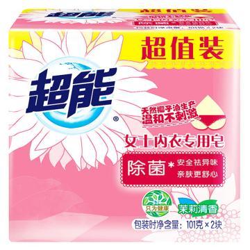 超能 女士内衣专用皂/洗衣皂,101g*2     单位:件