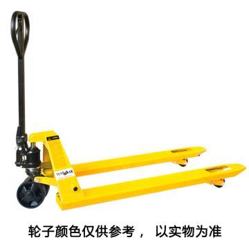 西林 DF系列手动液压搬运车(焊接泵) 额定载荷(t):3 起升高度(mm):195/185,DF3T*680MM*1220尼双
