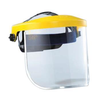 蓝鹰K4YE+K28头盔式防护面屏套装(黄),简易式调节
