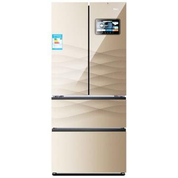 海尔 多门四门冰箱,BCD-401WDEJU1 天鹅湖【金】。预备下市