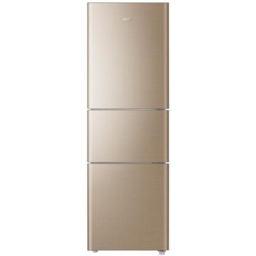 海尔直冷三门冰箱,BCD-206STPP,深林棕
