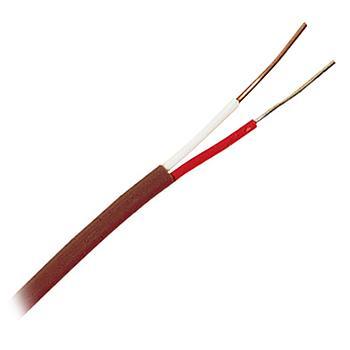 OMEGA J型双重绝缘热电偶线,特别限制误差 耐高温FPA特氟龙绝缘层 100英尺长,TT-J-24-SLE-100