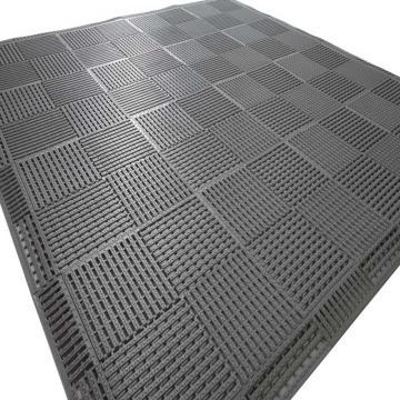 """麗施美""""康安""""模塊疏水防滑墊,0.30*0.30m,灰色 單位:塊"""