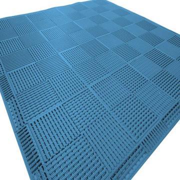 """麗施美""""康安""""模塊疏水防滑墊,0.30*0.30m,淺藍 單位:塊"""
