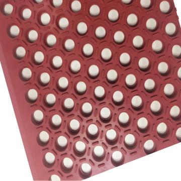 """麗施美 Hexguard""""特耐"""" 耐重油橡膠防滑墊,0.9*1.5m 磚紅色,單位:塊"""