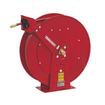 """Reelcraft重型低压输气/水卷轴,低压17bar,软管15M,内径1"""",D84050 OLP"""