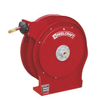 """Reelcraft 中型低压输气/水卷轴,低压21bar,软管8M,内径3/8"""",B4625 OLP"""