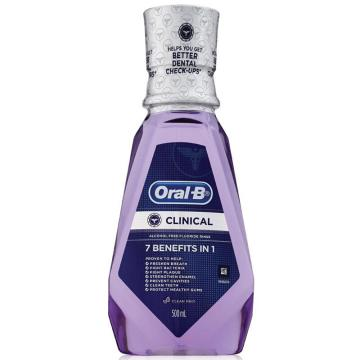 欧乐B牙龈专护漱口水,500毫升 单位:个