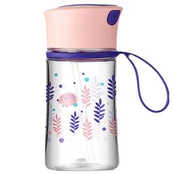 Migo儿童健康吸管水瓶 0.38L - 探索森林 ▪ 刺猬 单位:个