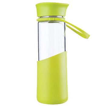 MiGo 享悦系列便携无铅健康玻璃水瓶 0.5L - 新草绿 单位:个
