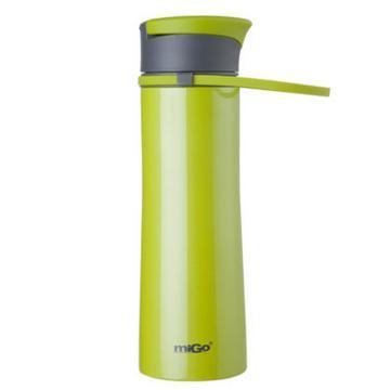 MIGO享悦系列不锈钢真空保温运动瓶0.5L-新草绿 单位:个