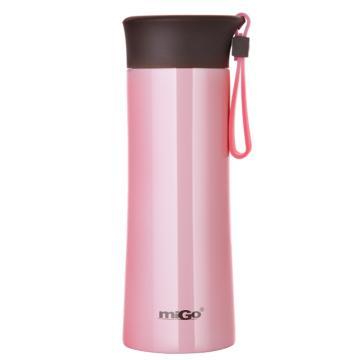 MIGO享悦系列不锈钢真空保温随行杯0.3L-花润粉 单位:个