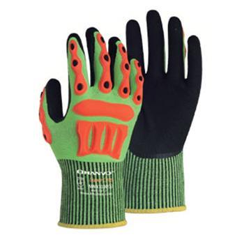 恒辉 机械手套,NWX3100-9,13针HPPE玻纤掌浸