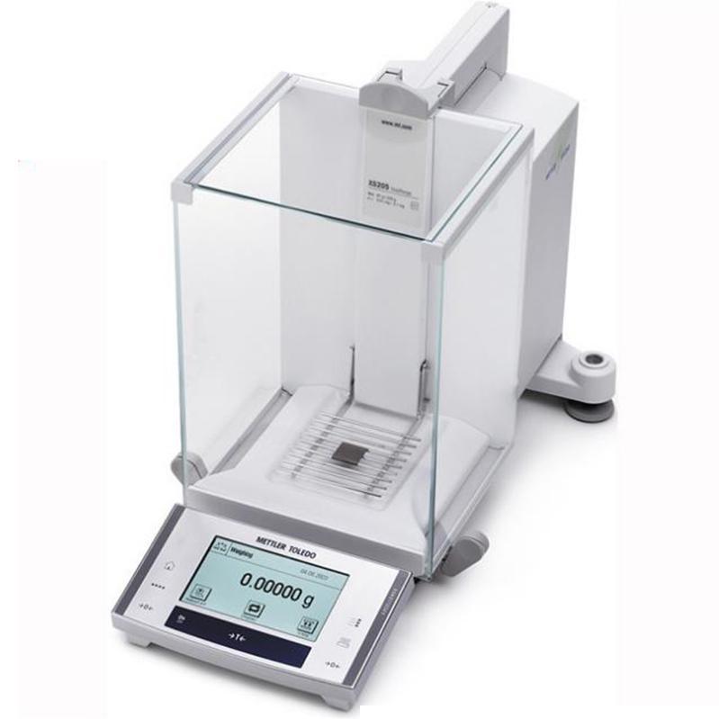 电子天平,梅特勒,xS105DU,分析天平,量程:120g,读数精度:0.1mg