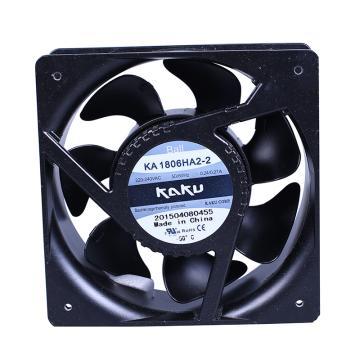 卡固 散熱風扇,KA1806HA2-2(插片式),滾珠型,220-240V