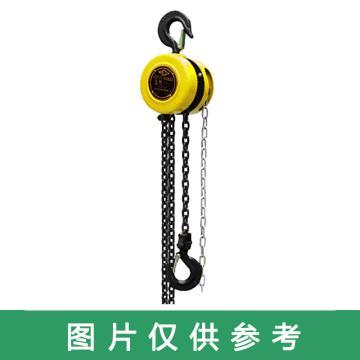 沪工 HSZ型手拉葫芦,额定载重(kg):2000,提升高度(m):3,型号:HSZ-2 3米