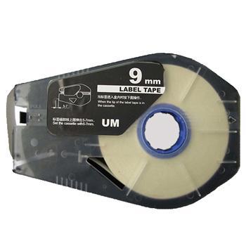 佳能 贴纸, 白色9mm长30m,适用佳能线号机 单位:卷