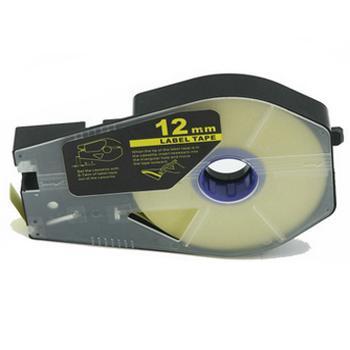 佳能 贴纸, 黄色12mm长30m,适用佳能线号机 单位:卷