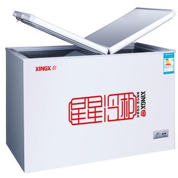 星星 230L商用家用双箱双温冷柜,BCD-230HE,蝴蝶门