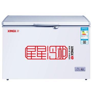 星星 305L商用冷藏冷冻转换单温单箱卧式冷柜,BD/BC-305E,安全门锁,顶开门