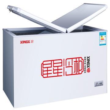 星星 219L商用家用冷藏冷冻转换单温单箱冷柜,BD/BC-219HE,蝴蝶门