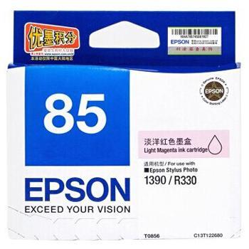 爱普生墨盒,淡洋红色T0856C13T122680(适用SP1390、810页)