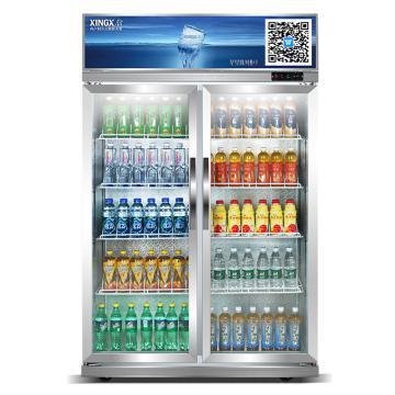 星星 600L商用两门冷藏展示柜,LSC-600K