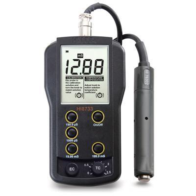 HANNA便攜式電導率儀,哈納 電導率儀,HI8733