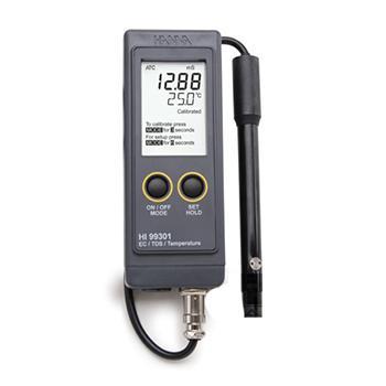 EC测定仪/TDS测定仪/温度测定仪,哈纳 防水型便携式水质测定仪,HI99300