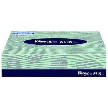 金佰利 舒洁长方扁盒装面纸,80抽 2层0228-30,200*194mm 72盒/箱 单位:箱