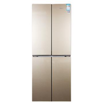 星星 388L四门十字对开门冰箱,BCD-388EV,分储锁鲜,静音冷藏冷冻