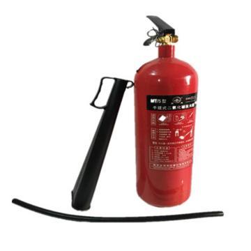 洪湖 手提式二氧化碳灭火器,5公斤,MT/5,高63×直径14cm(仅限内蒙古个别城市)