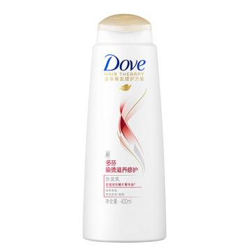 多芬染烫滋养修护洗发乳,400ml  单位:瓶