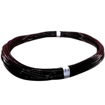 SMC 黑色PU气管,Φ6×Φ4,100M/卷,TU0604B-100