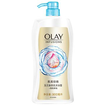 Olay美肌清爽沐浴露-亮爽珍珠,900毫升 单位:瓶