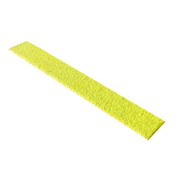 SAFEGUARD 楼梯防滑踏板,3mm玻璃钢,黄色,914×75×25mm(含安装配件),12084